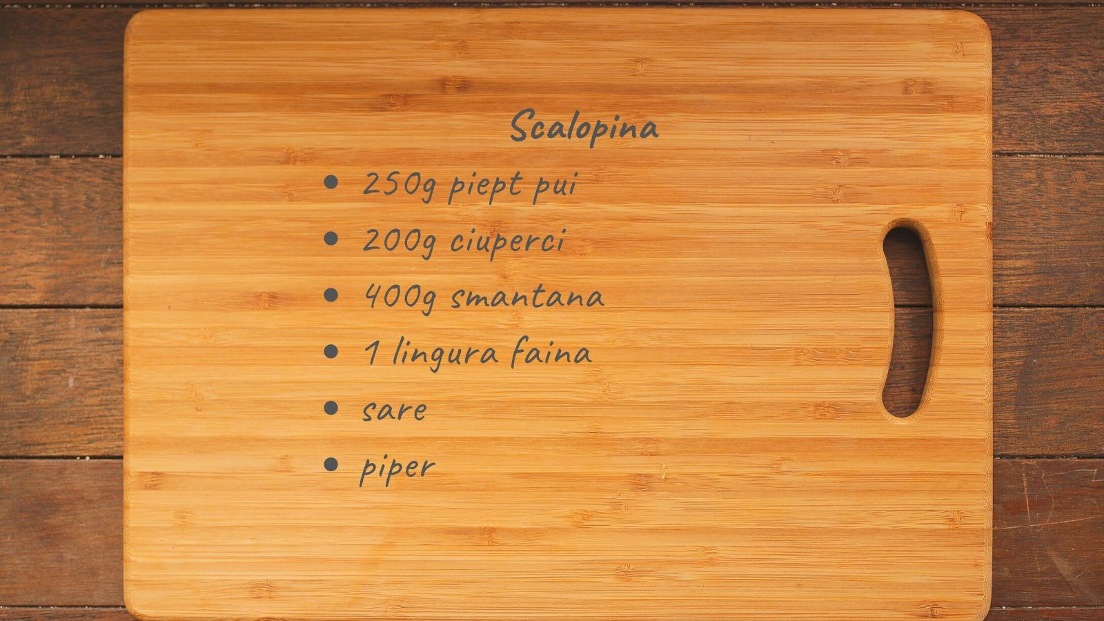 Reteta Scalopina